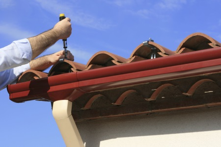 Jersey Village gutter installation by M Roofing, LLC