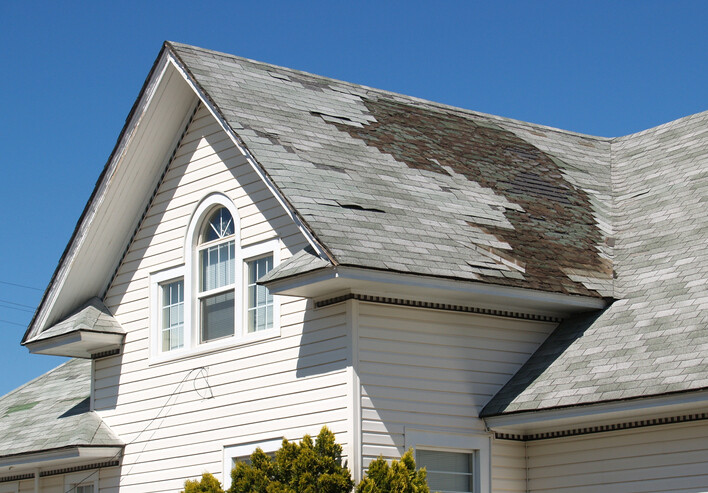 Roof repair after storm damage by M Roofing, LLC